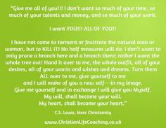 Christian Life Coaching & life coach training: Coaching with a Biblical foundation for Christians who want to breakthrough and live life fulfilled. I Need You, Give It To Me, Mere Christianity, Christian Life Coaching, Life Coach Training, Natural Man, You Working, Live Life, My Images