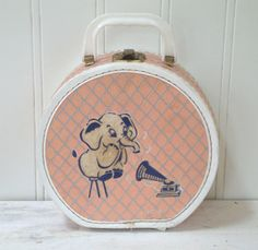 Your place to buy and sell all things handmade - Doll Vintage Suitcases, Vintage Luggage, Vintage Love, Retro Vintage, Vintage Stuff, Childrens Purses, Childrens Suitcases, Animal Bag, Vintage Nursery