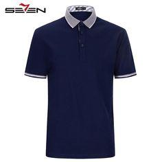 Summer Short Sleeve Shirts Casual Short Sleeve Cotton Polo Shirts Solid Color Shirt Collar Youth Polo Shirts