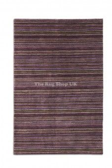 Linear 01 Pink Beige Striped Rug By Plantation Rugs Hadfields 1 - Striped Rug - The Rug Shop UK