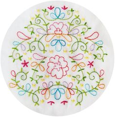 Beautiful new embroidery pattern from Polka & Bloom! Only $4.75. :)