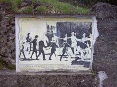 """Scuola media annessa """"S.Stagi"""" Pietrasanta, graffito per Forum Giovani a Sant'Anna di Stazzema, 27/29 aprile 2010."""