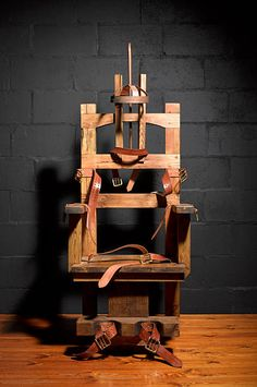 Electric chair Electric Chair, Still Image, Royalty Free Images, Chandelier, Ceiling Lights, Stock Photos, House, Candelabra, Copyright Free Images