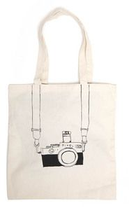 The Photographer tote by One & the Same.