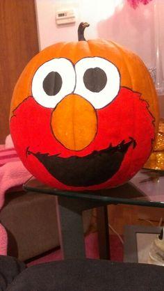 Elmo Pumpkin for Earnie!