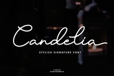 Buy Candelia - Stylish Signature Font by azzam_ridhamalik on GraphicRiver. Presenting Candelia Signature Font – a stylish signature script with a natural and stylish flow. Signature Fonts, Signature Design, Handwritten Fonts, All Fonts, Police, Stylish Text, Text Overlay, Premium Fonts, Scripts