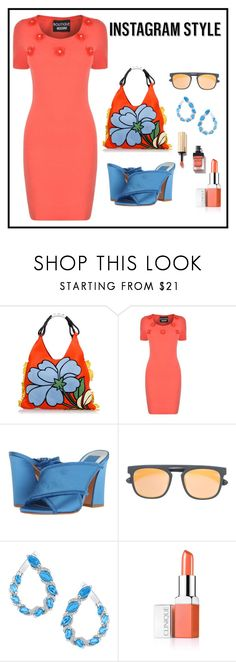 """""""Coordinate Your Style - Be Instagram Ready"""" by shamrockclover ❤ liked on Polyvore featuring Marni, Boutique Moschino, Dolce Vita, Mykita and Clinique"""