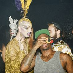 Inside On Top Le Freak C'est Chic! Le Bain's in-house paparazzo, Neil Aline spies on Susanne Bartsch's Tuesday extravaganza.