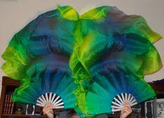 Sahariah's Silk Belly Dance ORIGINAL FANtasy by SilksbySahariah