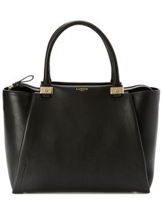 """LANVIN """"Trilogy"""" Leather Tote  $1,799.99 $2,350.00"""