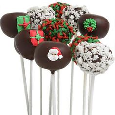 Delicious Christmas popcakes