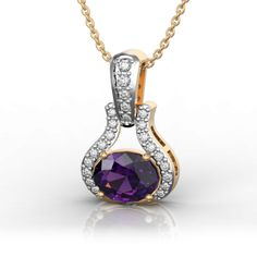 Best Online Diamond Jewellery store in India. Gold Pendant, Pendant Necklace, Diamonds And Gold, African History, Diamond Jewelry, Jewelry Collection, Diana, Amethyst, Jewelry Design