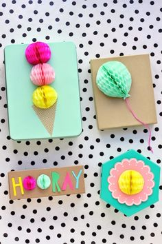Lime & Mortar: Creative Gift Wrapping Ideas - snowmen at Christmas?