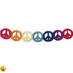 Guirnalda motivo Hippie