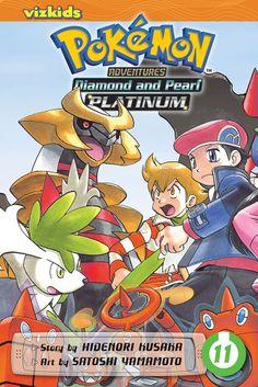 Pokemon Adventures: Platinum Graphic Novel 11