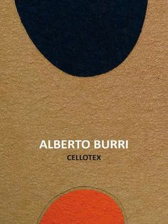 Alberto Burri's Cellotex- exclusive in Gaeta, Italy