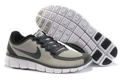 Nike Free Run 5.0 V5 Men Shoes Grey Black #runner