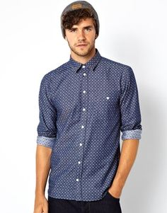 Minimum Shirt with All Over Pattern