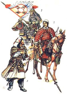 1) Khitan - 2)Jurchen - 3) Mongol