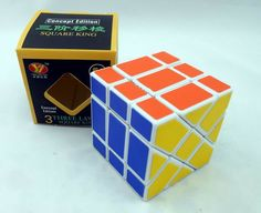 New Magic Cube Spring Adjustable Heterotypic Puzzles Competition Speed White 3x3