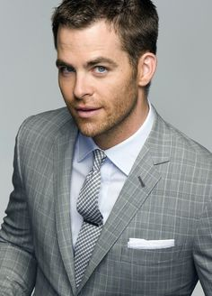 Chris Pine . those eyes get me everytime...  ... Yup.