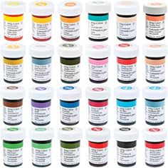 Wilton Master 24 Icing Color Set >>> More info could be found at the image url. Food Coloring Mixing Chart, Gel Food Coloring, Baby Food Recipes, Gourmet Recipes, Homemade Watercolors, Homemade Alcohol, Color Mixing Chart, Icing Colors, Food Dye