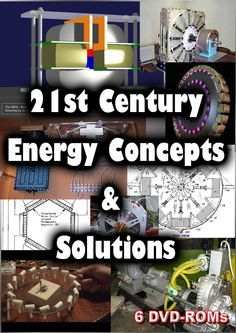 Free and Alternative Energy - 21st Century energy solutions - 6 DVD-ROMs