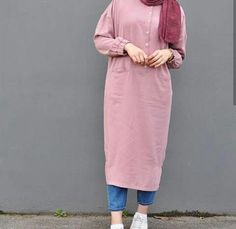 How to wear pink shirt chic New ideas Hijab Style Dress, Modest Fashion Hijab, Modern Hijab Fashion, Street Hijab Fashion, Modesty Fashion, Casual Hijab Outfit, Fashion Outfits, Style Fashion, Iranian Women Fashion