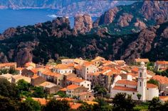 Piana Corsica Actually this is just a start. There are tons of charming towns and places in la belle France.