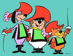 hanna barbara cartoon images | few examples of my inking work for Hanna-Barbera Licensing! 8^)