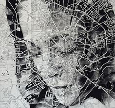 Landkarten-Porträts von Ed Fairburn | iGNANT.de