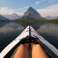 takeover by @goldiehawn ! On our way through Glacier National Park this summer we came across a rarely glassy Swift Current Lake. Eager to get our permits for our backpacking trip later that evening I almost didn't stop, however I knew if we didn't enjoy it right away the wind might pick up. We spent some time paddling around and sure enough the lake lost it's mirror like reflection as the breeze made it's way through the valley. It was the most peaceful afternoon on the water…