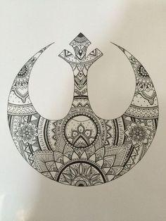 Resultado de imagen de star wars  harry potter tatto
