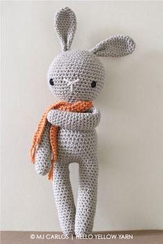 Crochet Amigurumi Cute Bunny PATTERN ONLY Crochet Stuffed