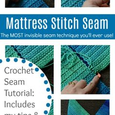 The first seaming technique that most crocheters learn is the whipstitch. While whipstitching has a time and a place, the Mattress Stitch Seam has become my go-to technique when seaming panels of crocheted fabric together. Below, I'll share with you … Continue reading →