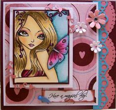 'Come Softly' Valentine by Angela Sowell - Cards and Paper Crafts at Splitcoaststampers