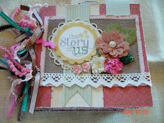 Scrapbooking by Phyllis: Premade 8x8 Chipboard Scrapbook Album *The Story o...