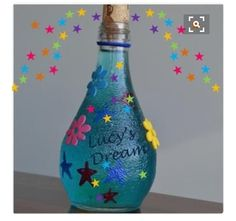BFG Dream Jar, nice craft idea that's topical Roald Dahl Day, Roald Dahl Books, Roald Dahl Activities, Book Activities, Fun Crafts, Crafts For Kids, Arts And Crafts, Book Projects, Projects To Try