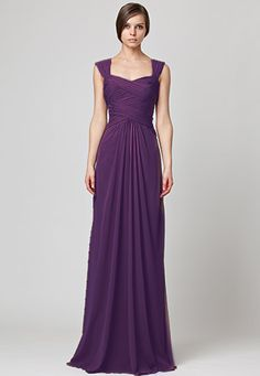 What BRIDESMAIDS dress goes with the Vera Wang 'Gemma' gown? : wedding bridesmaids dresses gemma go with gowns match vera wang what Dress Purple