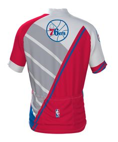 Philadelphia 76ers Aero Cycling Jersey - see all the NBA choices at http://www.cyclegarb.com/nba-cycling-gear.html