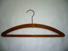 USアンティーク木製ハンガー「WhitterCleaningWorks」 Antique wood hanger ¥1000yen 〆04月21日