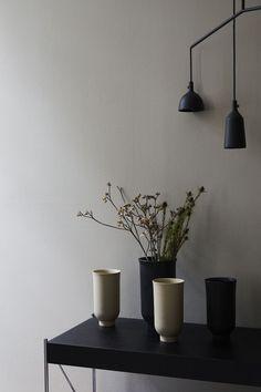 Warm Colour Palette, Warm Colors, Architecture Details, Interior Architecture, New Menu, White Furniture, Glazed Ceramic, Minimal Design, Danish Design