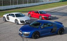 2013 Audi R8 V10, Plus, and Spyder