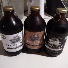 Because I couldn't decide on just one flavor. These are tasty. @luckyjackicedcoffee #luckyjack #nitro #coffee #coldbrew #caffeine #bean #brew #Java #Joe #bottle #keto #mct by jfotybjj