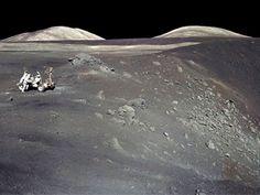Desarrollan un sistema para producir electricidad en la Luna de noche