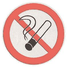 Autocollant de défense de #fumer dans les lieux affectés à un usage collectif ! Décret n° 2006-1386 du 15/11/2006.  La signalisation devra être apposée aux entrées des bâtiments et à l'intérieur, dans des endroits visibles et de manière apparente (espaces de circulation, le halls d'entrée, les salles de réunions...).