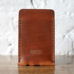 Sleeve Saddle Tan for iPhone 5 / by Corter Leather