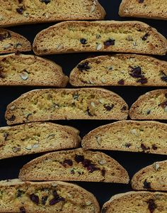 Citrus, Cranberry and Hazelnut Biscotti - House of Brinson