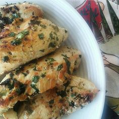 Cilantro lime chicken it is so fast and easy that I don't mind making it in a pinch. You can have it for a main course or top a salad with it. #wholesisters