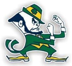 "Notre Dame Fighting Irish 12"" Car Magnet"